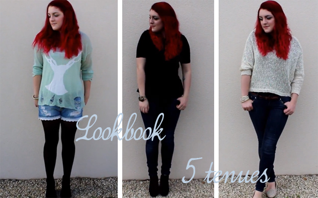 Lookbook automnal: 5 tenues