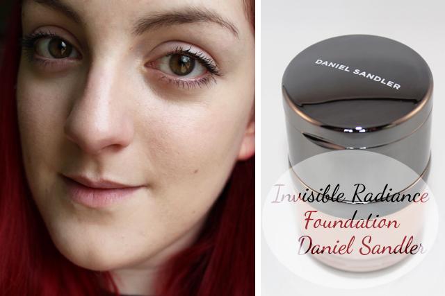 Invisible Radiance Foundation – Daniel Sandler : Mon test