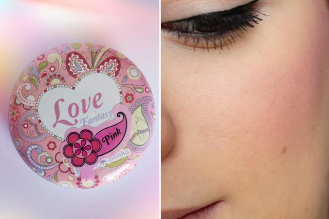 """Des petites joues de poupée avec le blush """"Love Fantasy"""" d'Holika Holika"""