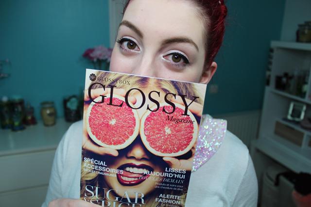 glossy