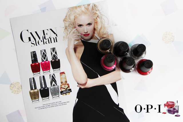 La collection Gwen Stefani x OPI : Oh yeah !