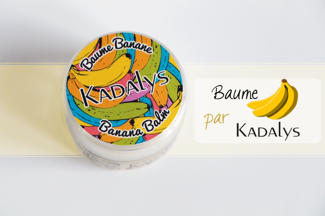 Mon baume lèvres et papilles à la banane par Kadalys.. Miam !