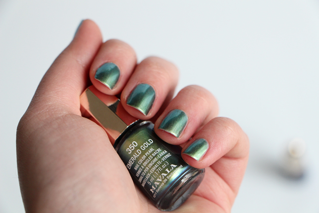 mavala emerald gold