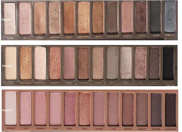 Risultati immagini per palette naked 1