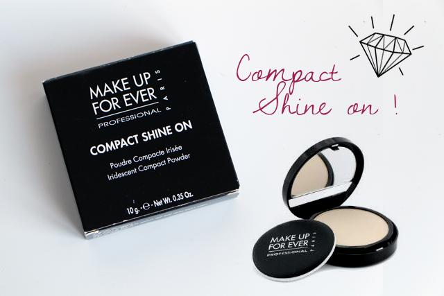 Le Compact Shine on de Make up for ever pour définir son visage !