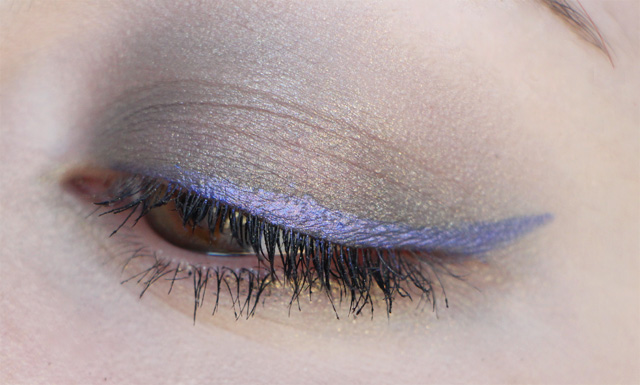 rainbow eyes front cover liner violet
