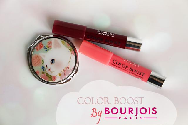 Les rouges à lèvres Color Boost de Bourjois !