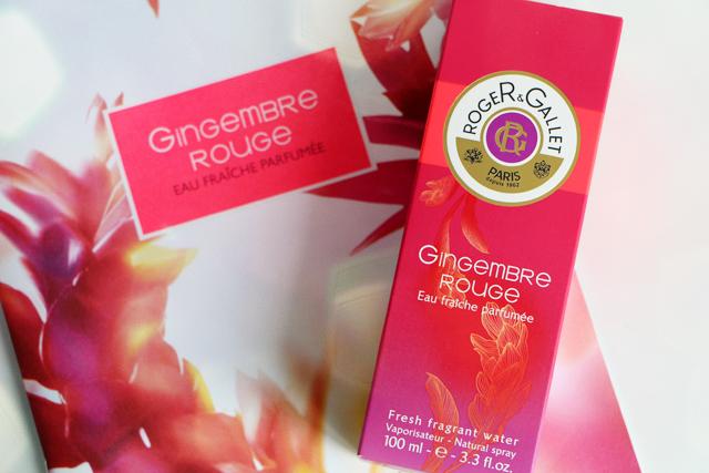 Gingembre Rouge, la nouvelle eau fraîche de Roger&Gallet