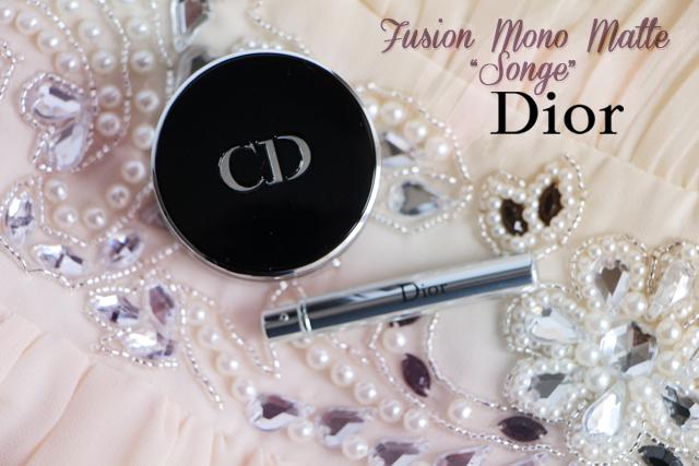 """Unifier sa paupière avec l'ombre Fusion Mono Matte """"Songe"""" de Dior"""