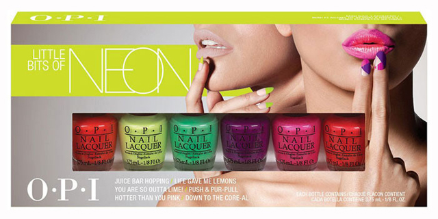 collection OPI mini
