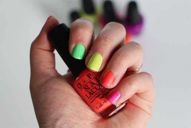 collection neon opi 1