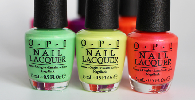neon collection OPI x