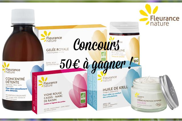 Concours Fleurance Nature : 50€ à gagner!