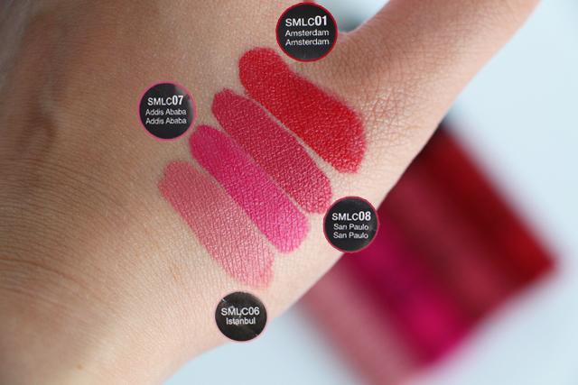 swatch nyx soft matte lip creams