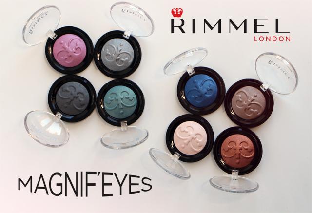 Les nouvelles ombres à paupières Magnif'eyes de Rimmel
