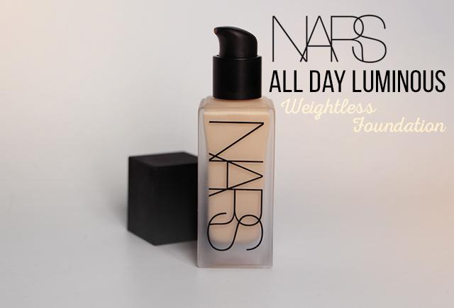 Le nouveau fond de teint All Day Luminous Weightless Foundation de NARS !