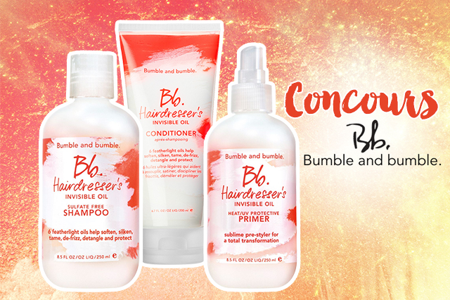 Concours #6 : Bumble and Bumble