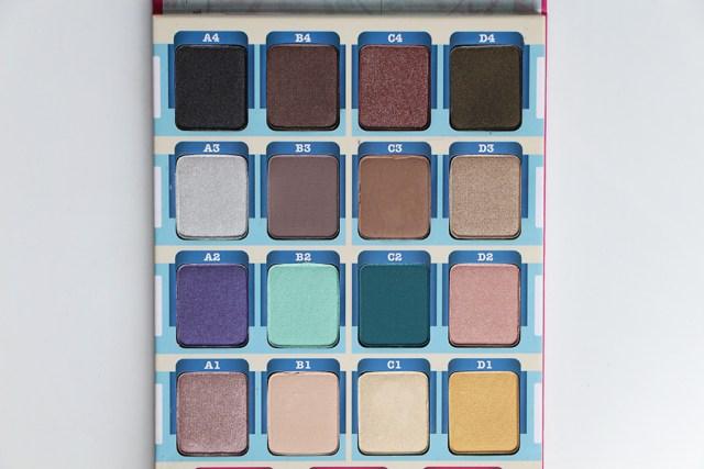the balm palette fards