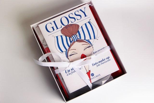 glossybox open la coquette
