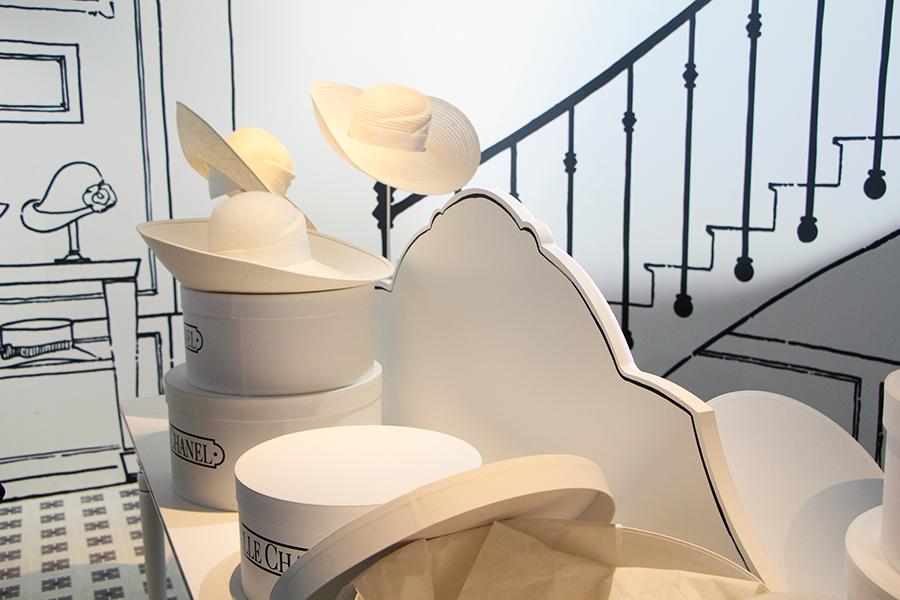 atelier chapeau chanel