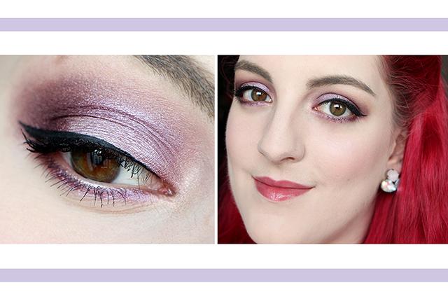 Tutoriel maquillage : Nuances de Lilas avec la Vice 4 !
