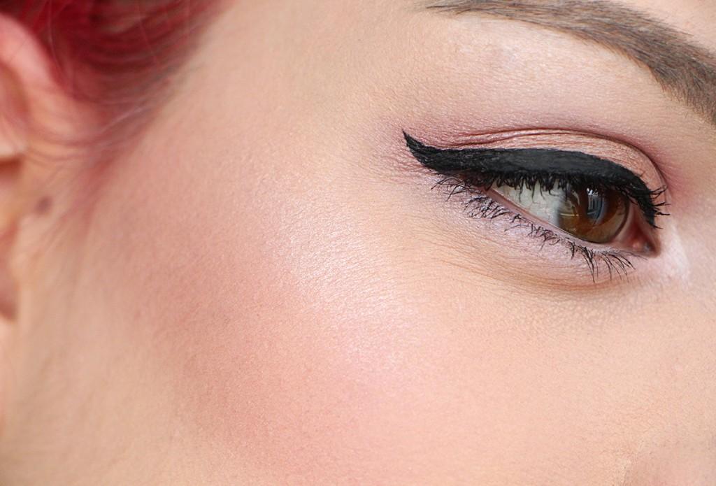 sleek makeup face high