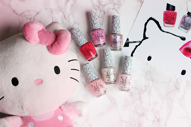 Hello Kitty by OPI : La collection meoooow !