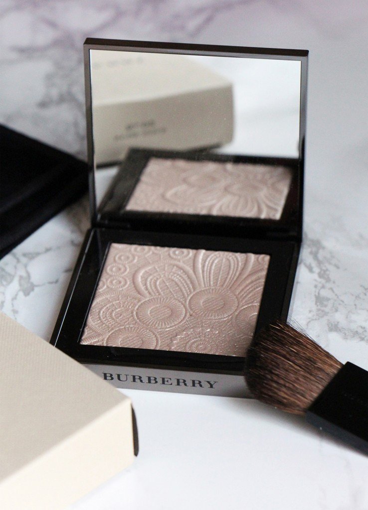 highlighter burberry RUNWAY PALETTE PRINTEMPS ete 2016 NUDE GOLD 2 white