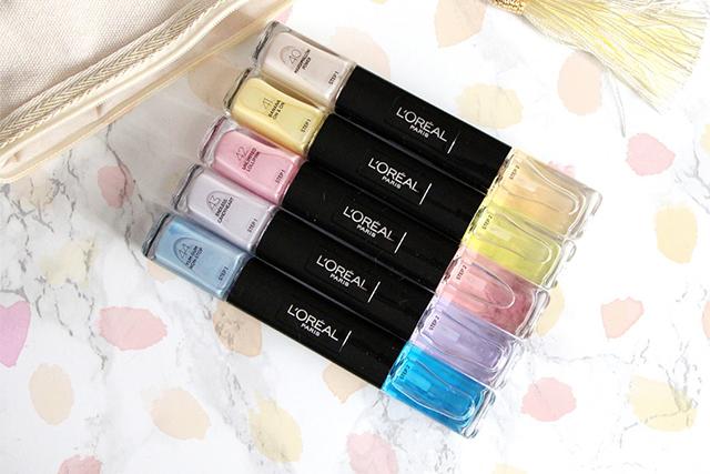 La collection pastel Gel Duo Infaillible par l'Oréal !