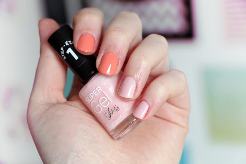 rimmel swatch kate moss super gel nail polish 1
