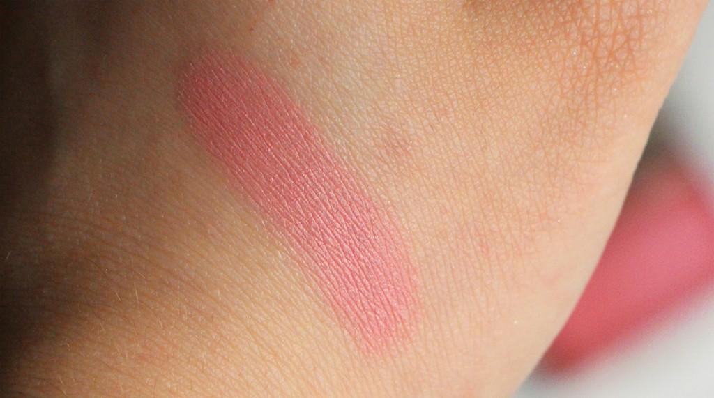 clarins blush swatch