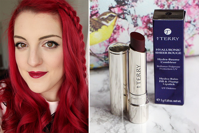 """Le Hyaluronic Sheer Rouge """"Sangria Appeal"""" signé By Terry"""