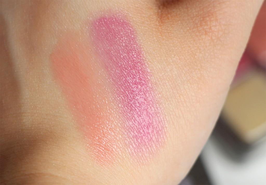 lancome swatch lips 1