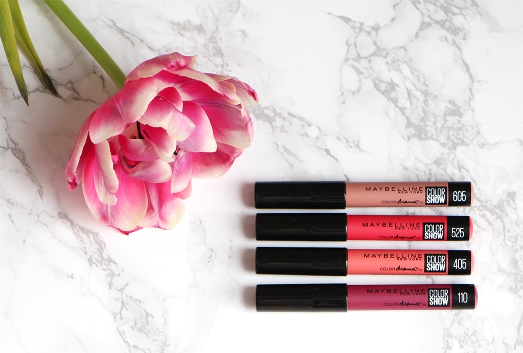 maybelline color drama by color show shades
