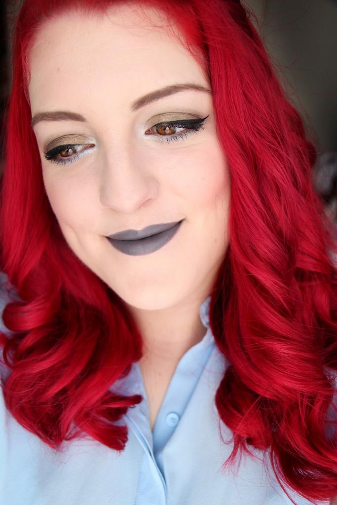 mac lipstick halsey grey lips