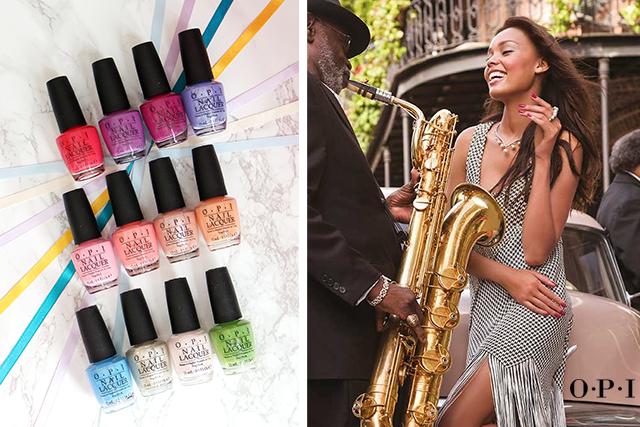 La collection New Orleans d'OPI : esprit jazzy !
