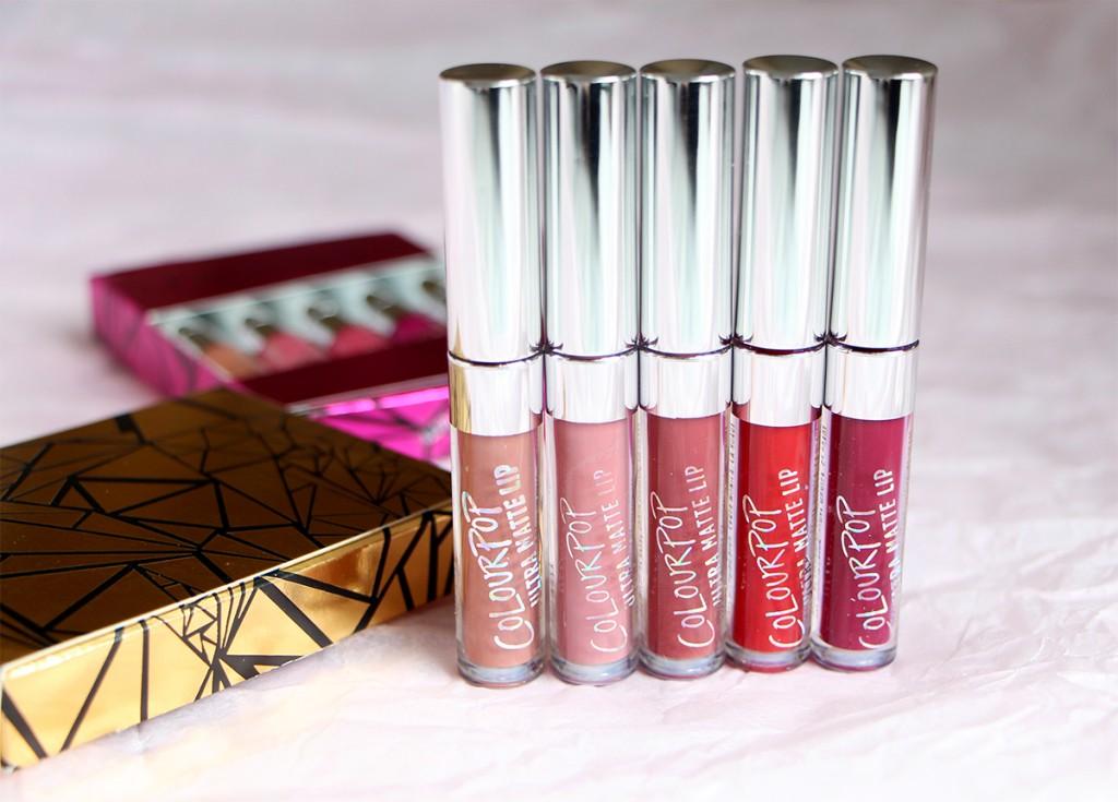 colourpop foxy ultra matte lip liquid lipsticks