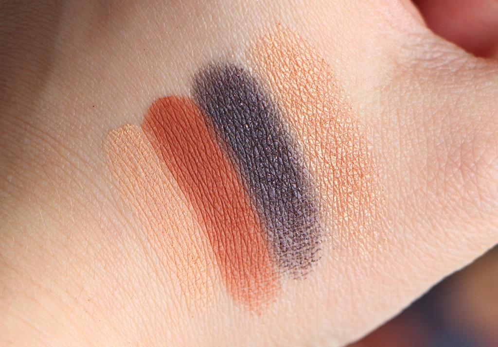 anastasia palette couture shadows SWATCHS 3