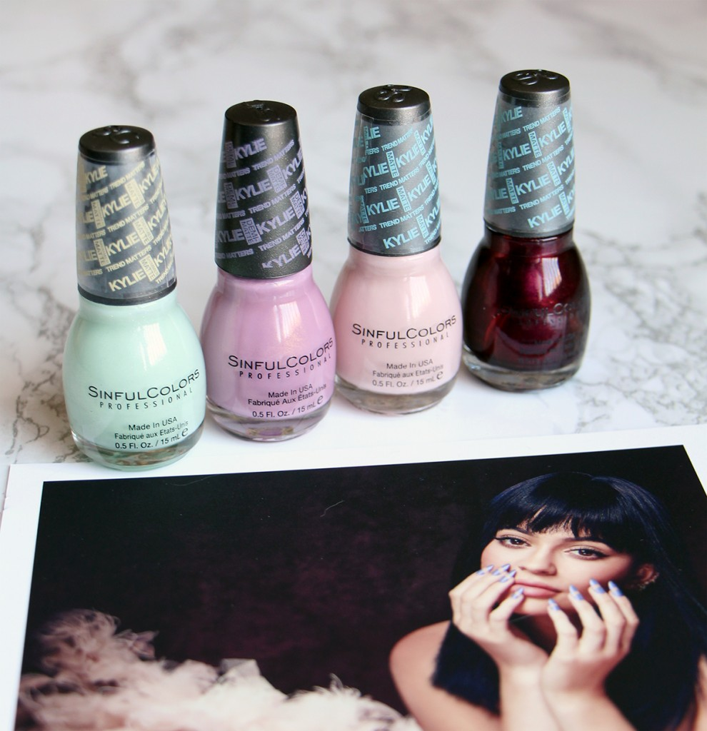 sinful colors kylie collection