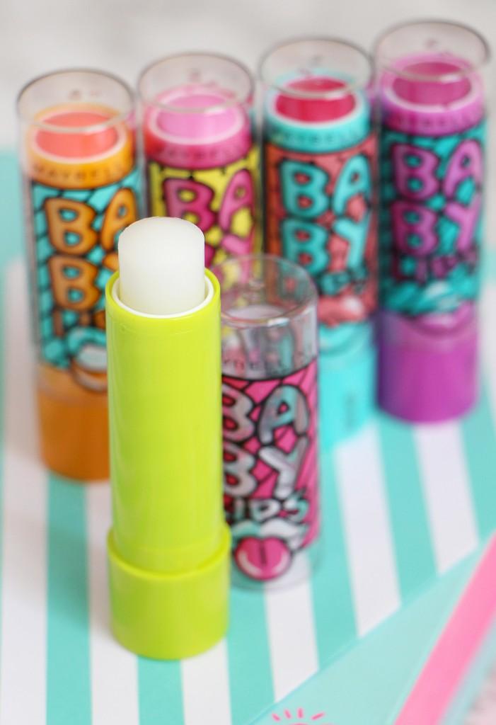 babylips lemon zap pop art collection