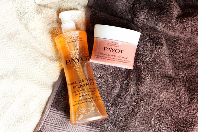 Rituel relaxant sous la douche signé Payot