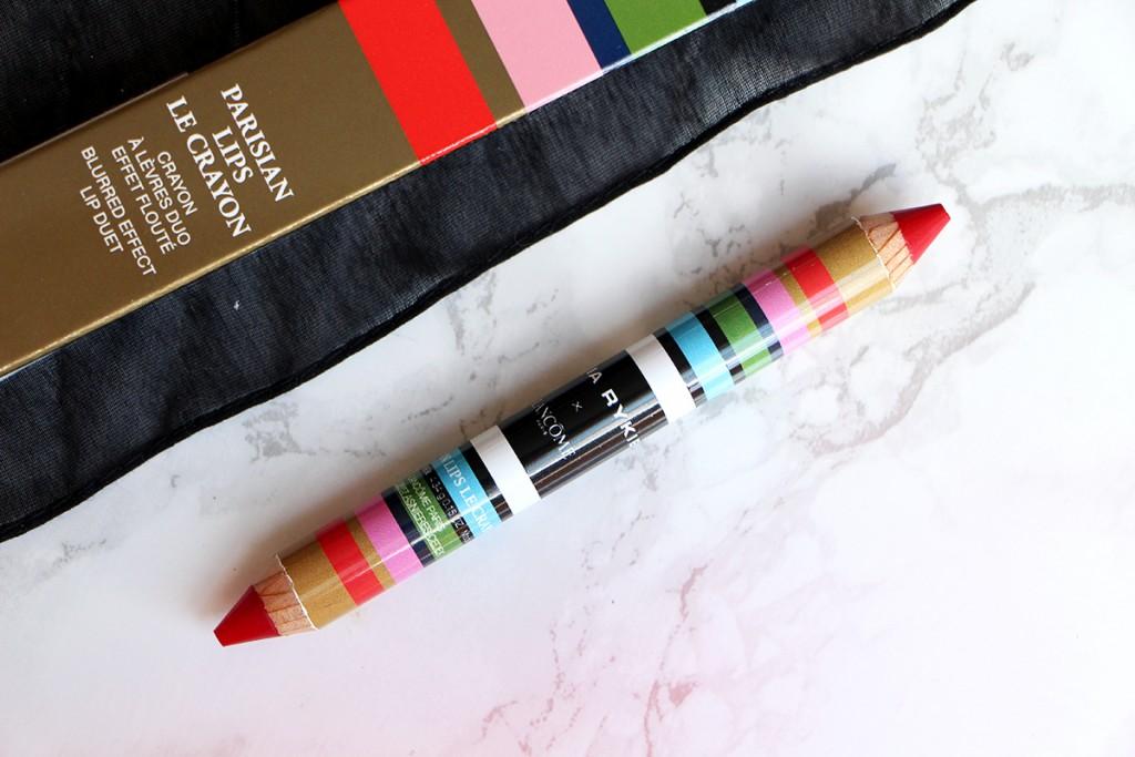 parisian lips le crayon lancome sonia rykiel