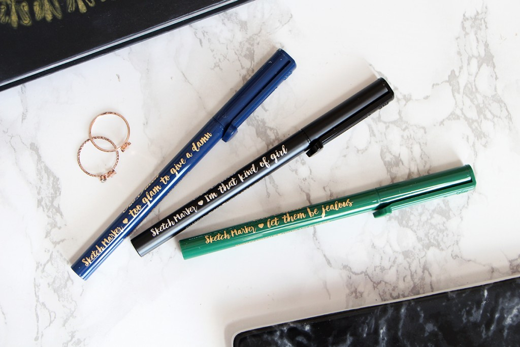 sketch marker too faced revue review swatch