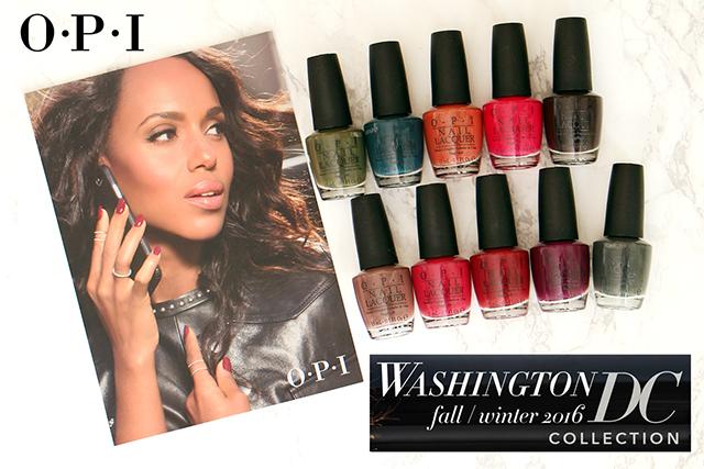 La collection Washington DC d'OPI imaginée par Kerry Washington !