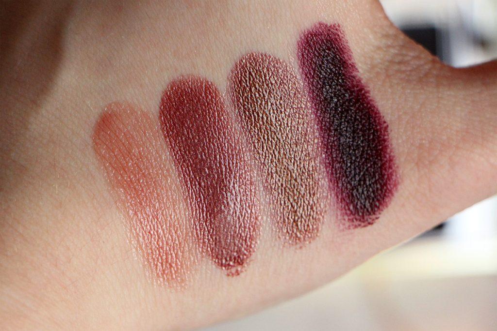 urban decay vice lipstick palette swatch 1
