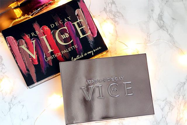 """La Vice Lipstick Palette """"Blackmail"""" d'Urban Decay : pratique !"""