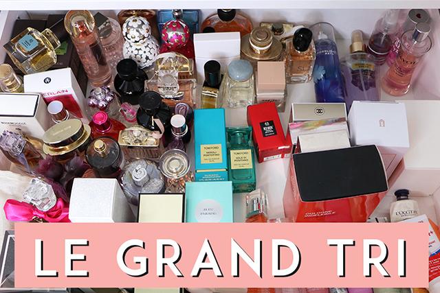 Le grand tri #1 : ma collection de parfums!