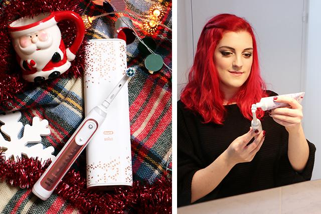 Et pour Noël, pourquoi pas la brosse Oral B Genius Rose Gold? (+concours !)