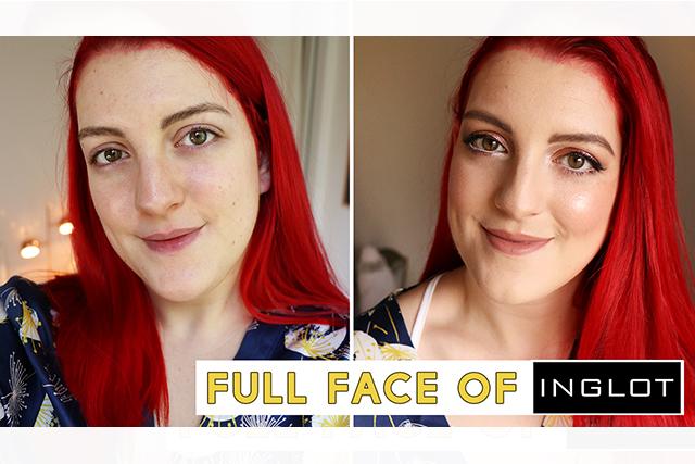 Full face of INGLOT