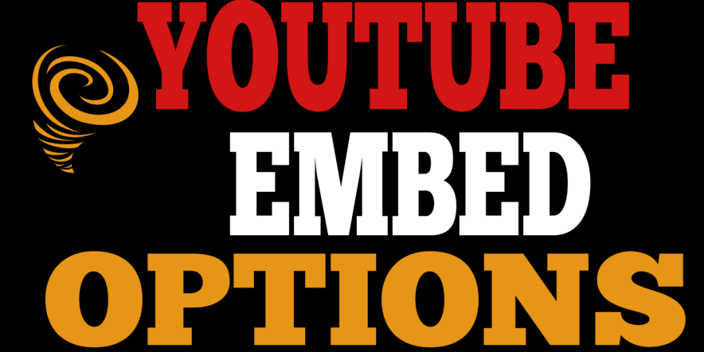 youtube embed options